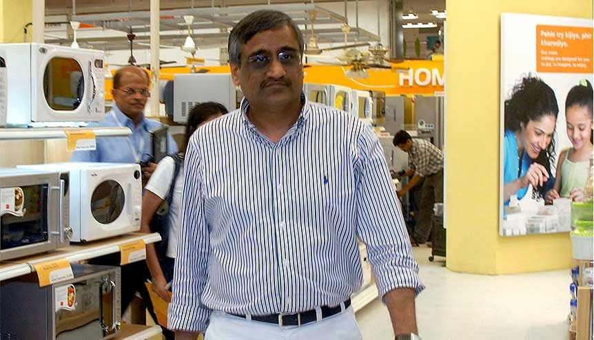 Kishore Biyani, CEO, Future Group. Reliance's acquisition of his business may prove to be a game changer in the Indian retail eco-system.