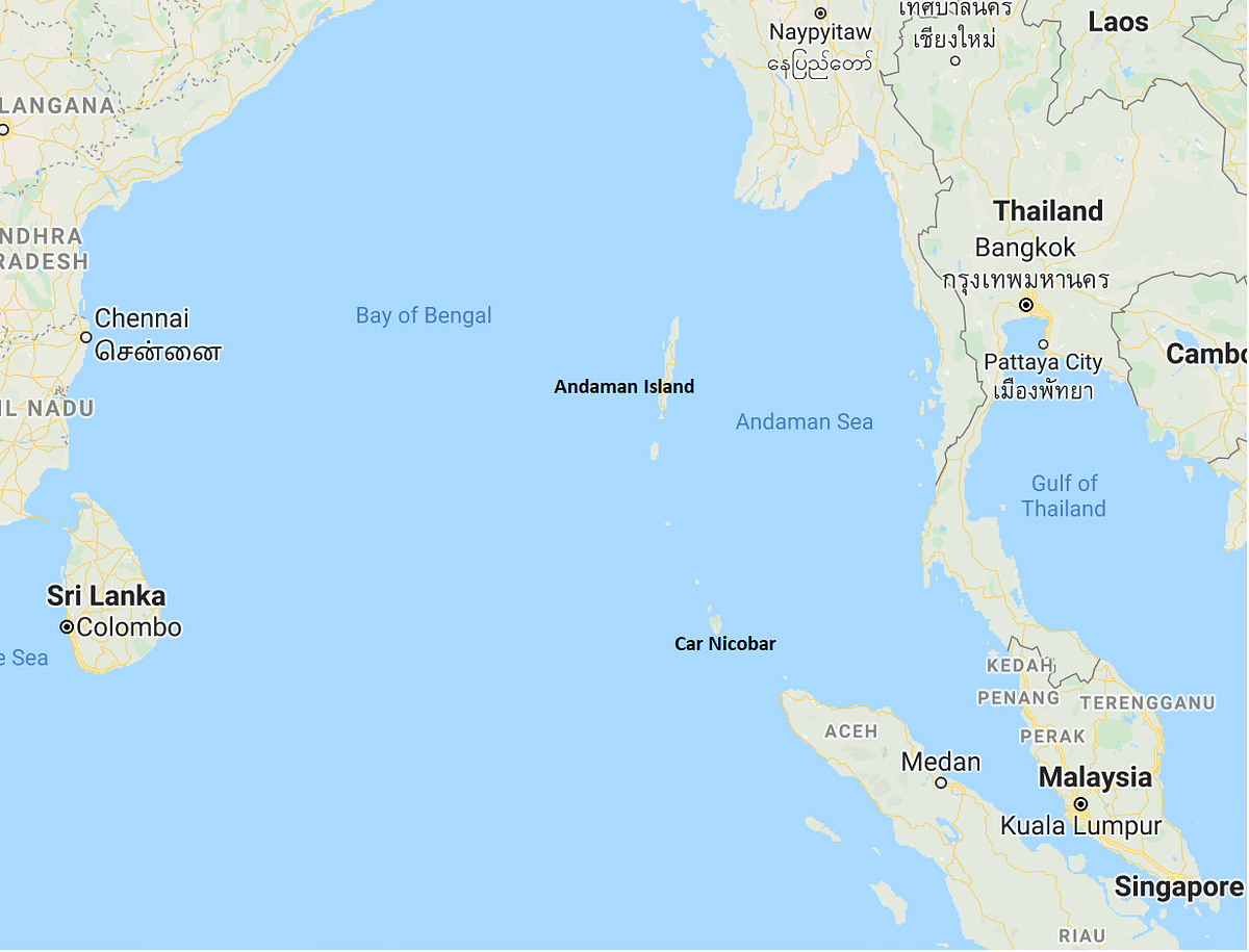 The Andaman and Nicobar Islands share a natural proximity to the Straits of Malacca, the busiest sea lane in the world today.