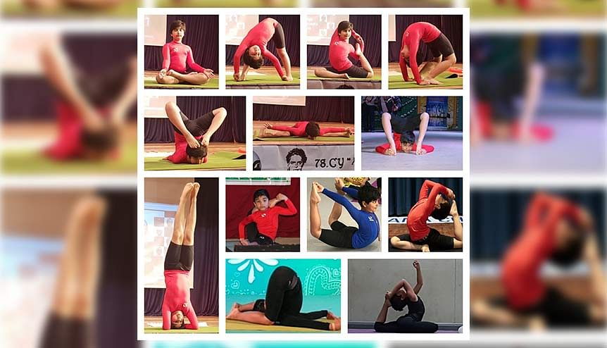 UK-based 10-year-old Yoga prodigy wins Indias My Life, My Yoga contest