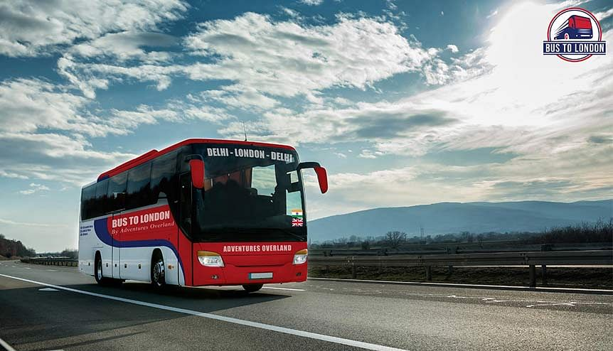 Bus to London: An epic journey from Delhi drives towards a 2021 start