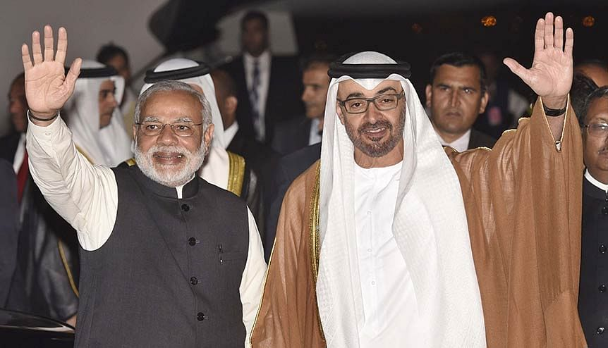 High profile bilateral visits by the leaders of India and the UAE mark out the age old bonds between the two countries culminating in a comprehensive strategic partnership.