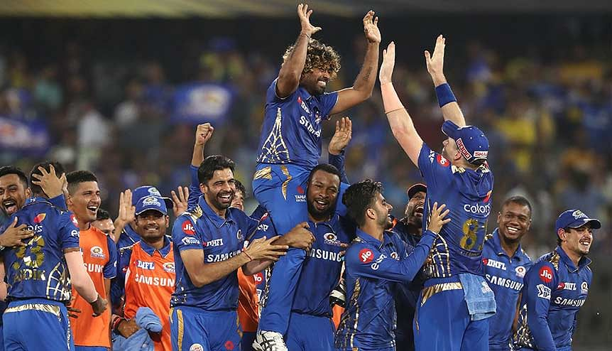 Let the games begin. The Mumbai Indians celebrate their IPL title win in 2019. Sport has been a gamechanger giving UAE-India ties a renewed momentum.
