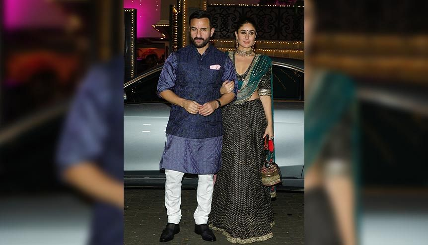Kareena and Saif Ali Khan step into #TheNewNormal