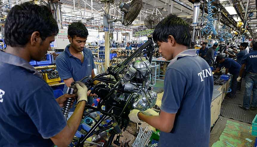 India ranks 103rd out of 141 countries on the competitiveness of its labour market, according to the World Economic Forum.