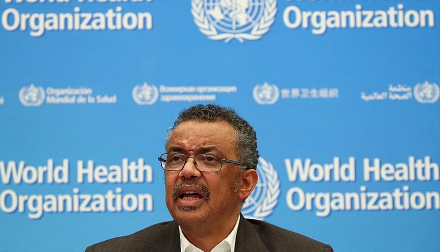 The WHO chief Tedros Adhanom Ghebreyesus has urged countries to spend on shared solutions.