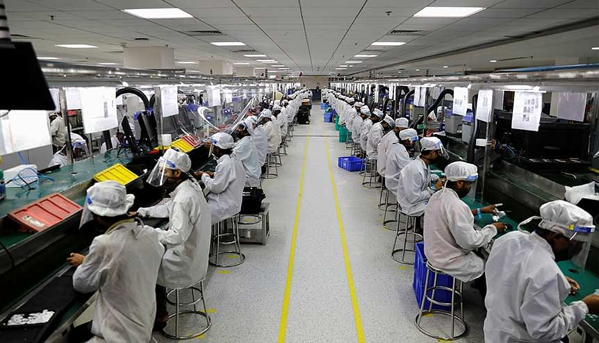India has already managed to attract top electronic manufacturers like Foxconn, Pegatron and Wistron Corporation and Samsung and commit to export a combined $100-billion worth of high-end smartphones.