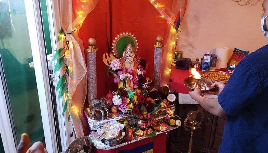FaithTech Series: Virtual Visarjan for Ganesh Chaturthi with Mauritian Marathi Society