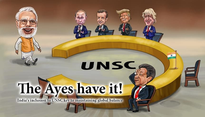 High time a reformed UNSC admitted India as a permanent member