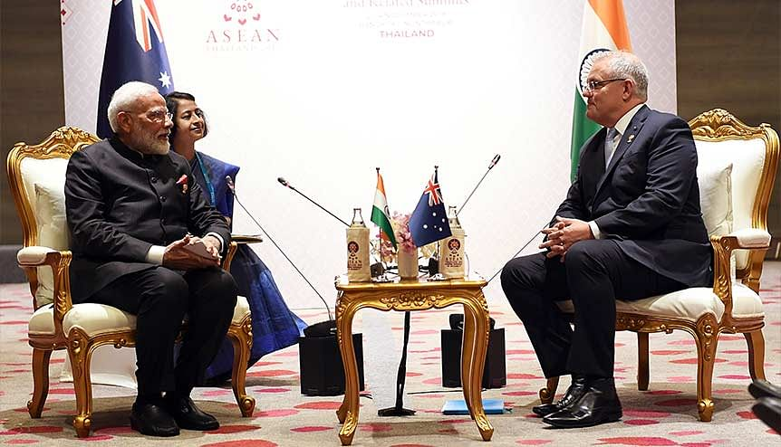 Its B for business as India-Australia come together to forge a new power bloc