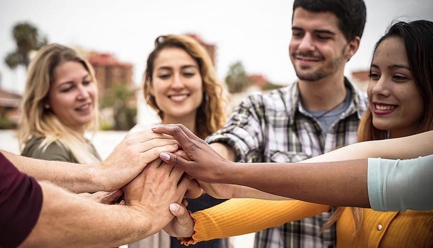 Key to happiness may lie with friends, over family
