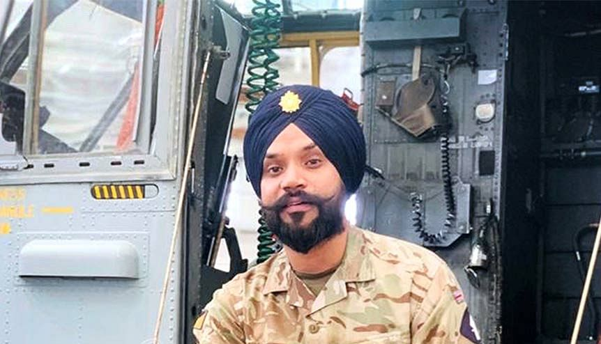 Sikh soldiers UK Army promotion makes worldwide waves