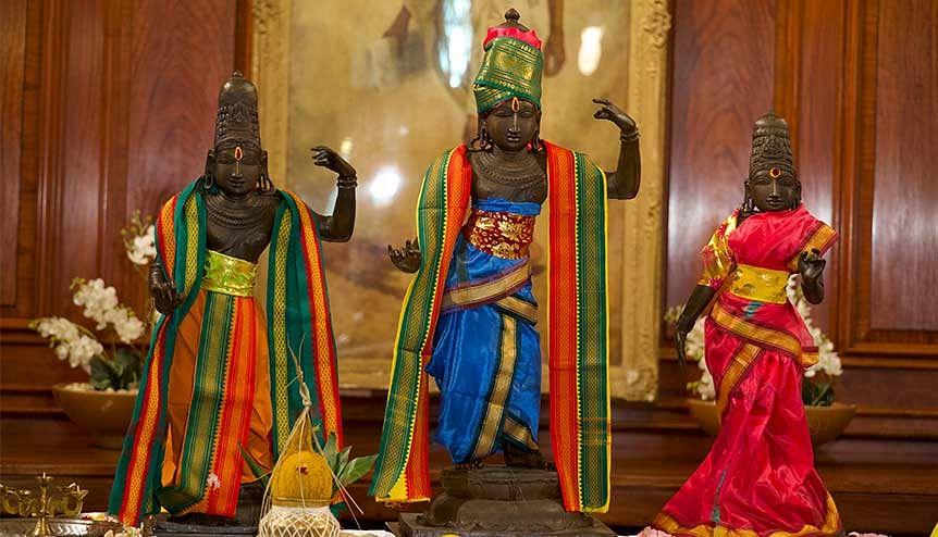 Stolen Lord Rama, Sita, Lakshmana idols restored from UK to India