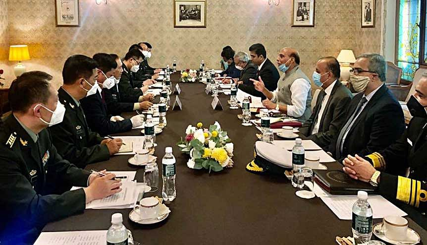 Defence Minister Rajnath Singh meets Chinese Defence Minister General Wei Fenghe in Moscow. India, which enjoys good relations both with the West as well as with Russia, can act as a bridge between the two sides.