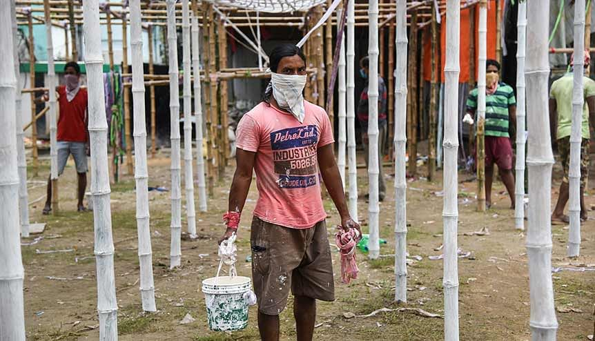Several construction and public health engineering companies are adopting adopt (IoT)-based platforms and drones to track a wide variety of benchmarks in the aftermath of the pandemic.
