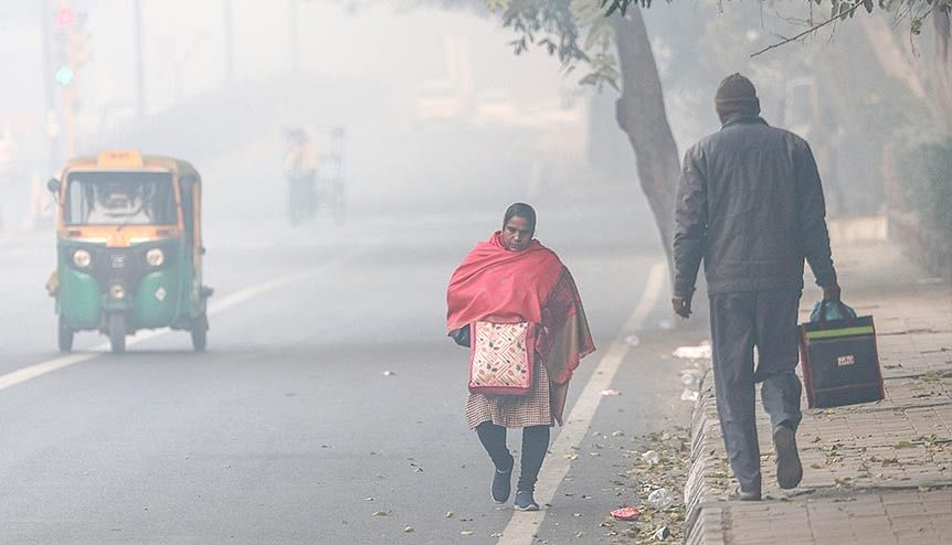 Air Quality Index was at 'severe' during the early hours in the capital according to Delhi Pollution Control Committee. The current crisis has shown that clear skies and breathable air can be achieved very fast if concrete action is taken to reduce burning of fossil fuels.