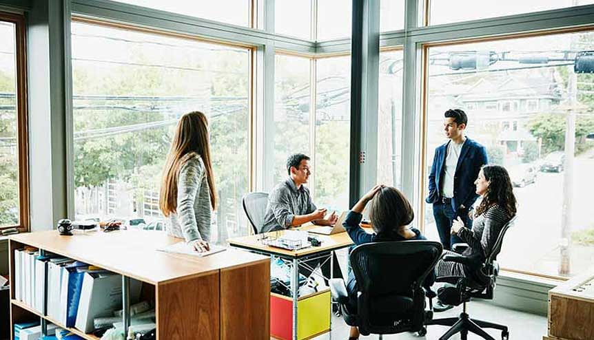 Digital transformation of the workplace