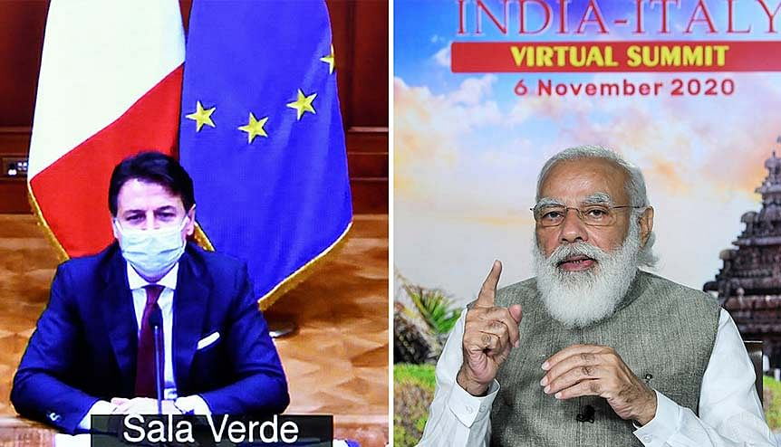India and Italy revisit and re-energise their strategic ties