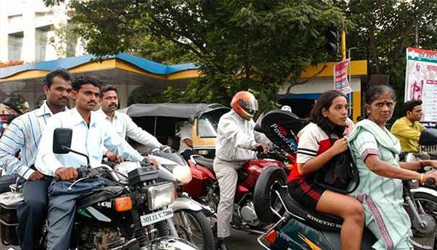 Hero MotoCorp, the world's largest two-wheeler company, as well as its older rival Bajaj Auto, reported record sales largely because of a sharp increase in rural demand.