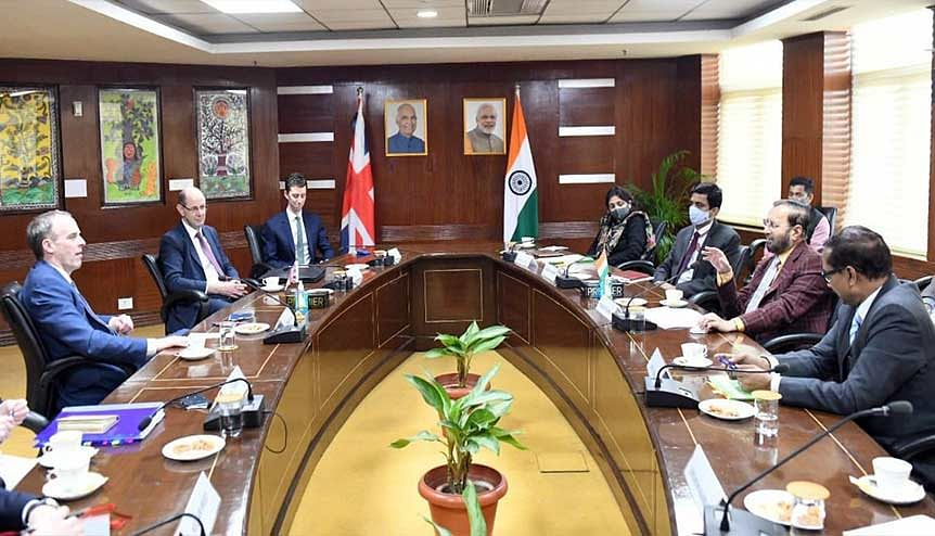Minister of Environment, Forest & Climate Change, Prakash Javadekar met with UK Foreign Secretary Dominic Raab. The UK and India will be hoping to shift the dial on climate change at the UN Climate Change Conference in Glasgow next year.