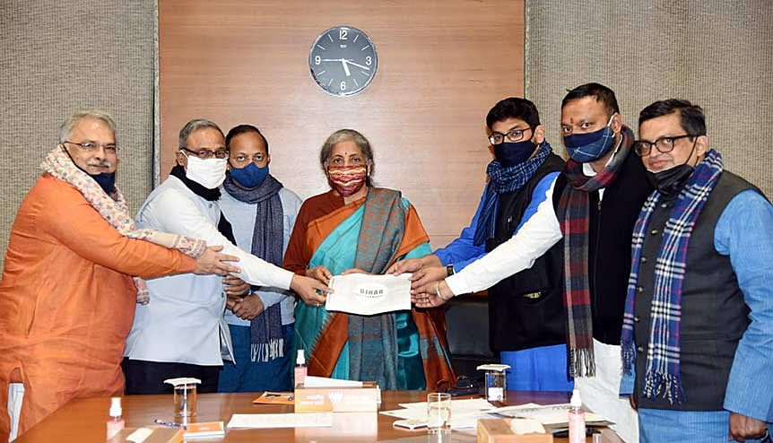 Minister of Finance and Corporate Affairs Nirmala Sitharaman with officials and members of various civil society organisations, as a part of the pre-budget discussions. Economists will be looking out for measures to boost consumption.