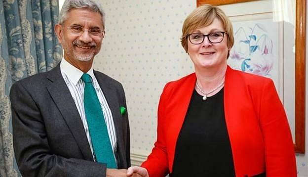 """Indian minister of external affairs Dr. S Jaishankar with his Australian counterpart Marise Payne. There is a need to realise that the Australian Indian diaspora is a strategic asset that can be effectively utilised to """"globalise"""" India's domestic development agendas in Australia."""