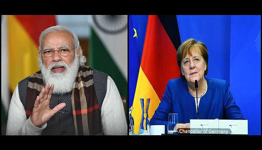 Merkel dials Modi to rekindle hopes of India-EU FTA