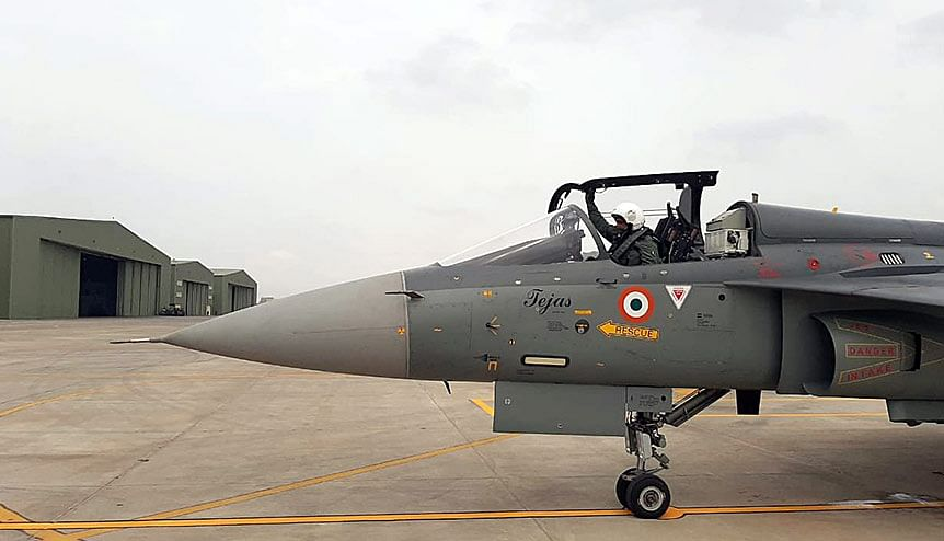 Tejas MK1A is the first combat aircraft with an indigenous content of 50% which will progressively reach 60% by the end of the programme.