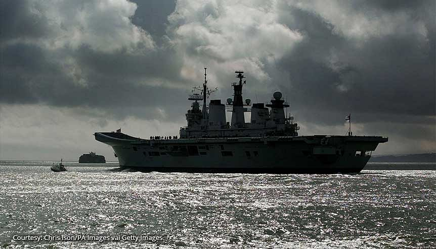 UK aircraft carrier headed for the Indo-Pacific in fresh impetus