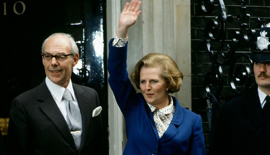 Thatcher unveiled a bold privatisation programme that transferred struggling public sector companies to the private sector which helped Britain maintain its economic strength.