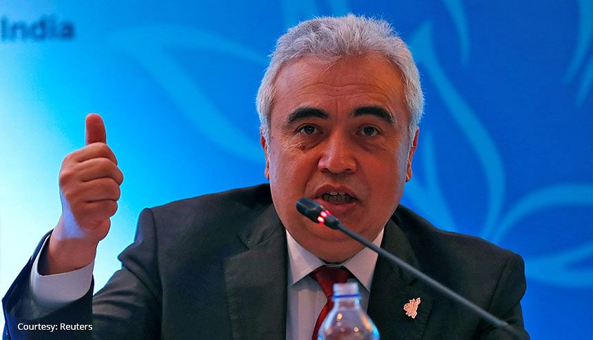 Fatih Birol, Executive Director of the IEA at the International Energy Forum (IEF) in New Delhi in 2018. Birol has hailed the new agreement between India and the IEA as 'historic.'
