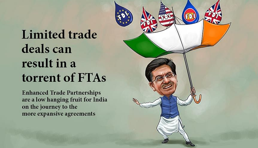 India's limited trade deals a step towards FTAs