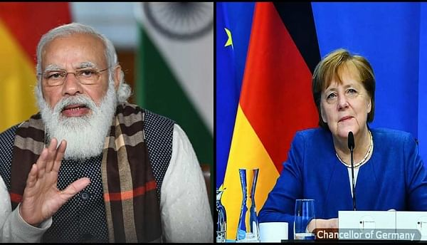 Courtesy: ANI German chancellor Angela Merkel's interest in discussing matters of interest with Indian PM Modi is an illustration of the face that Germany and the EU are putting a lot of emphasis on strengthening its ties with India.