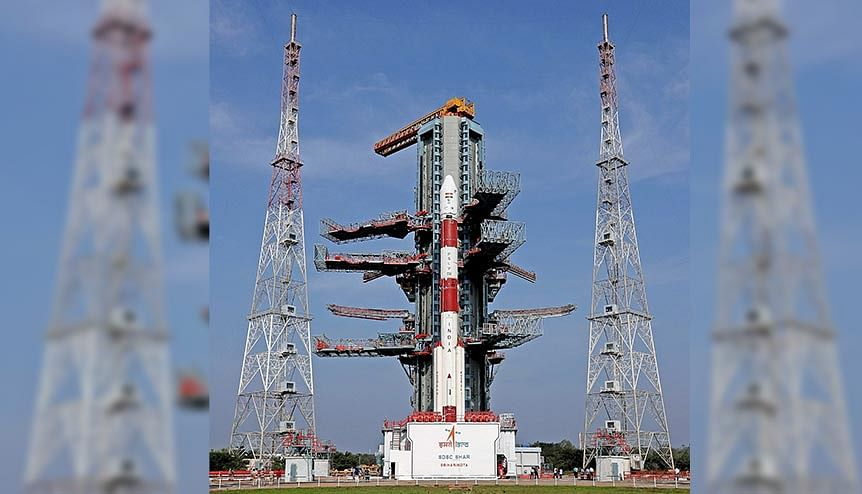 The PSLV-C50 which was set for launch. ISRO will allow private companies to build facilities within DoS premises and it has agreed to share its technical knowledge with private players.
