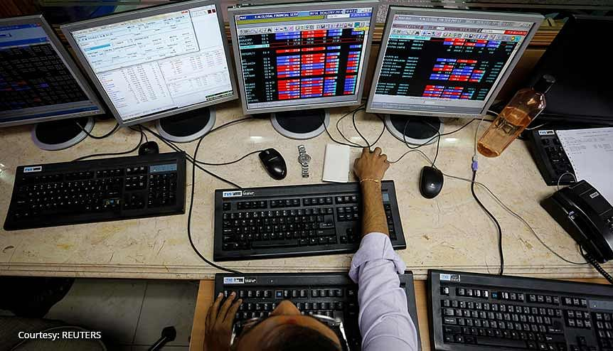 Sensex, Nifty inch higher as rebound in banks offset Reliance slide