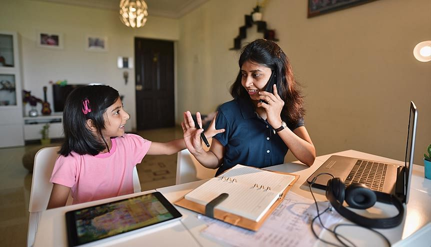 63 per cent of women had to balance home schooling along with work from home compared to 52 per cent of men globally.