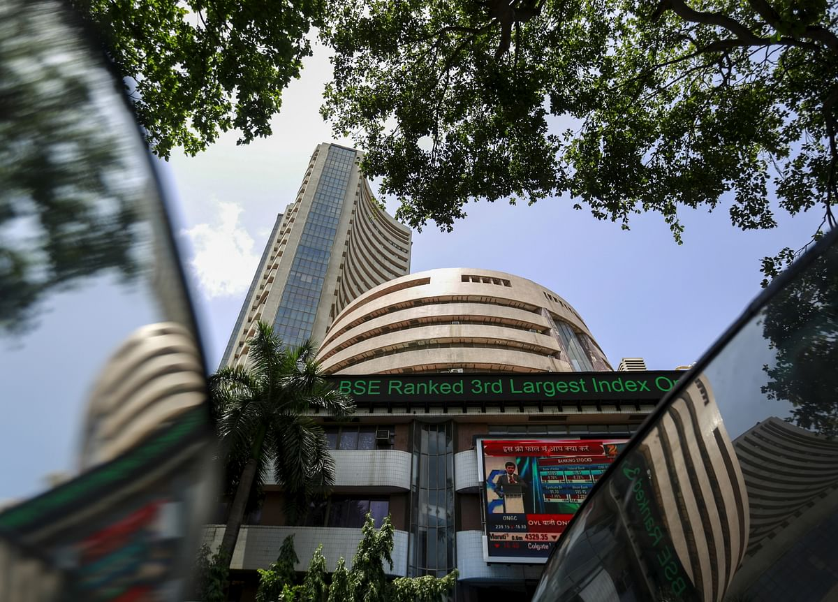 The Bombay Stock Exchange (BSE) building stands in evidence of the fact that more individuals are considering investments in stocks and shares since Indian equity markets went through the roof in the last two quarters of 2020-21.
