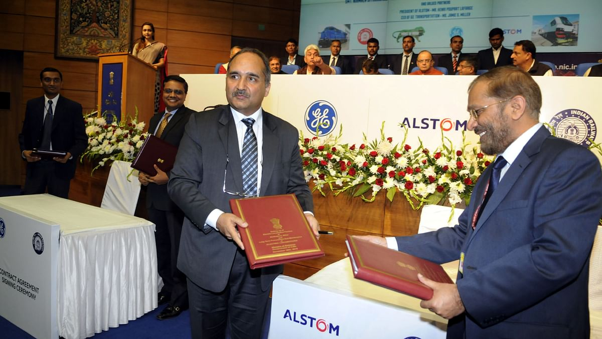 ndian Railways awarding contracts to Alstom to set up electric locomotive factories in Bihar in 2015. Over the years, Alstom has worked with the Ministry of Railways, India to transform the heavy freight transportation landscape of the country, as part of the largest FDI project in the railway sector.