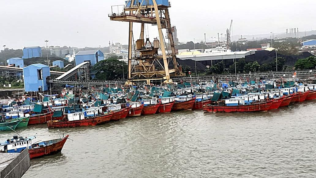 A view of the port in Mangalore. The government's initiative will ensure a template for further infrastructure and logistics reforms in areas where the government remains involved through Public Sector Units (PSUs).