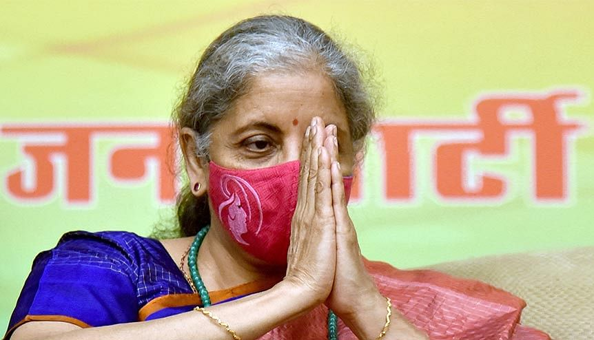 Indian finance minister Nirmala Sitharaman's financial stimulus package lifted sagging spirits during the pandemic and gave new impetus to the company's economy which was facing trying times.