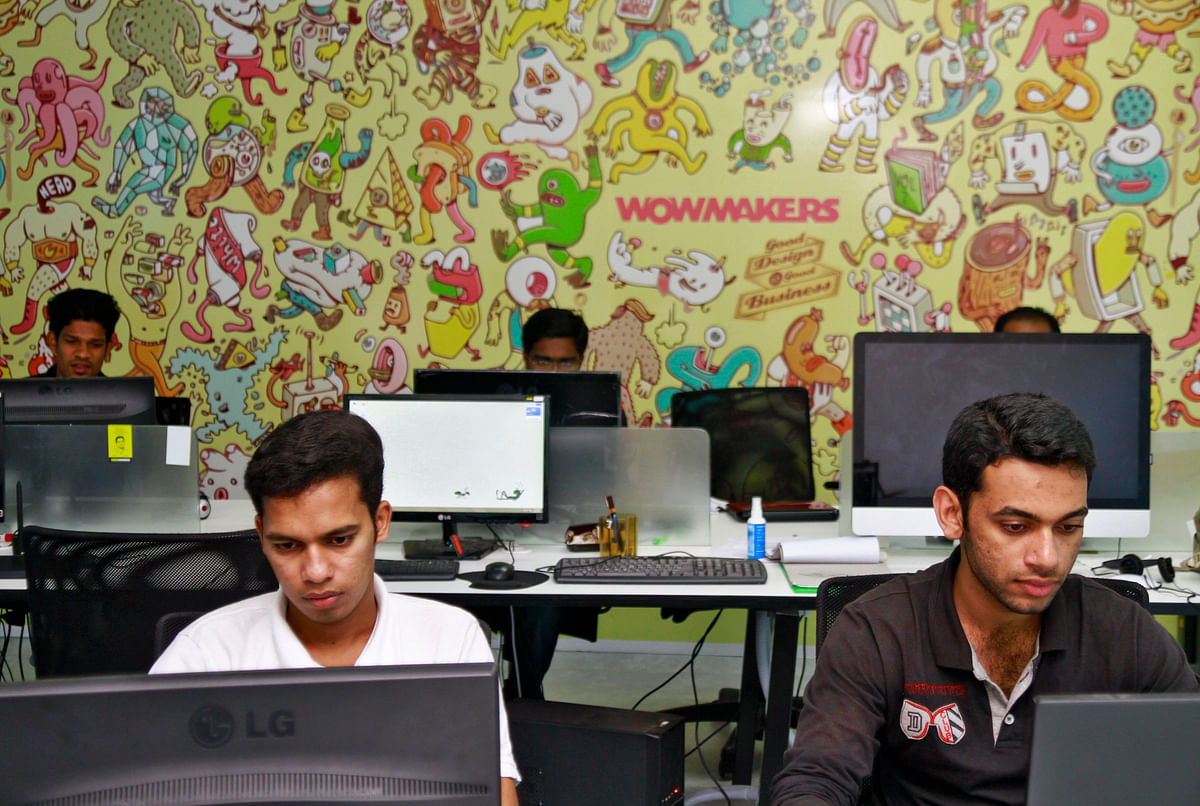The promise of youth. Tech professionals work on their computer terminals at the Start-up Village in Kinfra High Tech Park in the southern Indian city of Kochi. Young India is highly aspirational and tech-savvy and sees the world as its oyster.