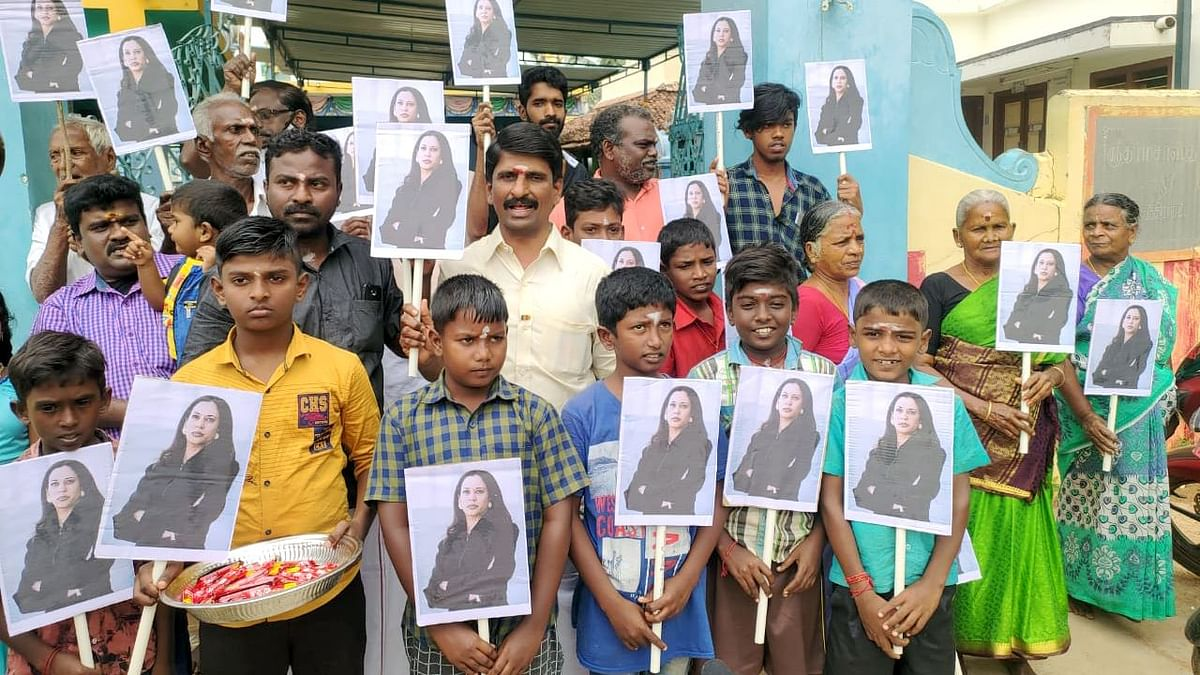 The power of India in the US. People hold placards of Kamala Harris, as she prepares to take her oath as vice-president of America, at her ancestoral village in Thulasendrapuram. Biden places a high value on the achievements of the Indian community in the US.