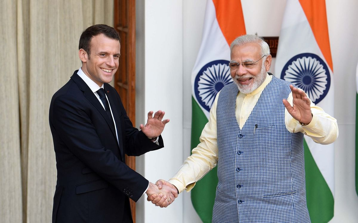 India is currently in negotiations with a host of friendly nations like France, the UK, the US, Germany and Japan on cyber security cooperation.