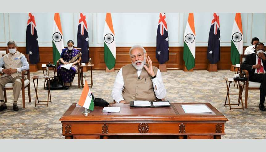 Indian prime minister Narendra Modi will be orchestrating a very crucial role for India during the QUAD deliberations in search for regional and international stability against aggressive Chinese actions.