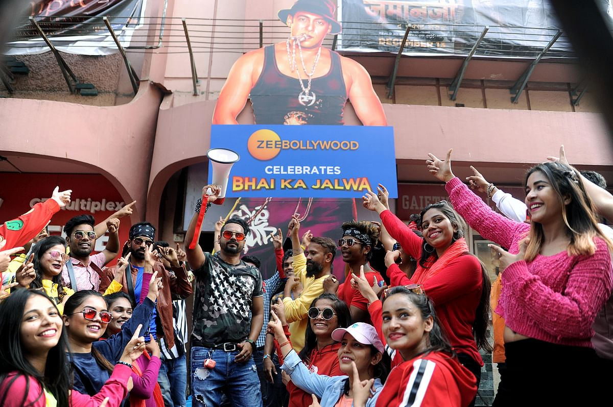 Fans of Bollywood star Salman Khan display hoardings and placards ahead of a film release. The TYNY report projects digital to grow the most in 2021. The report says that print is expected to have a far better run this year, with a total ad spends upswing of 23 per cent.
