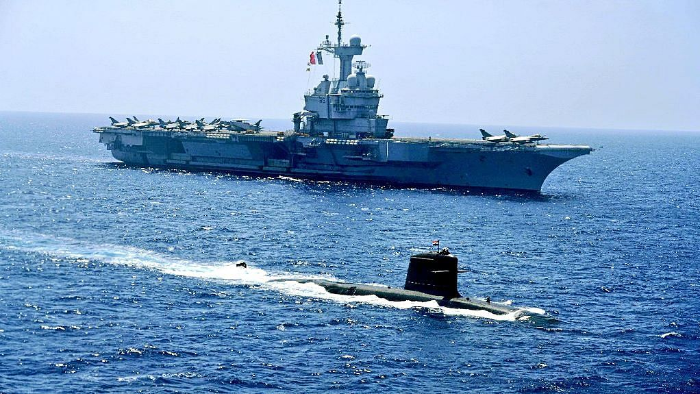 The Indo-French naval exercises was designed to send a message to Beijing
