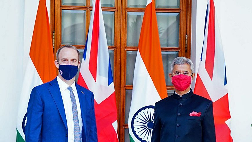 An India-UK Defence Logistics Memorandum of Understanding (MoU) has currently been postponed following the cancellation of Johnson's much awaited visit to India this month.