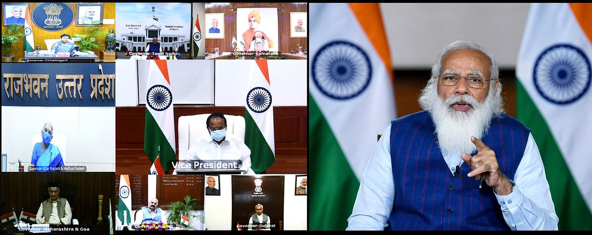 India PM Narendra Modi interacting with governors and lieutenant governors from states to monitor the pandemic situation across the country. The pandemic is fueling a rapid growth of ICT spending and enterprises changing focus and business models to deliver digital-first experiences.