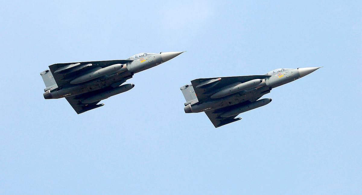 Tejas aircraft of the Indian Air Force fly out in formation. India and the UK need to create the space to work out a lasting defence partnership. The collaboration on the Tejas LCA Mark 2 aircraft is a case in point.