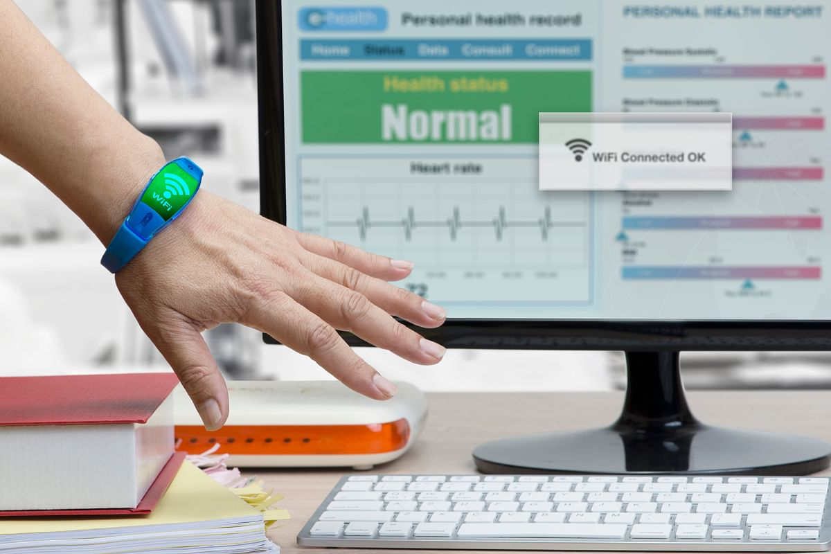 A wireless device to transfer patient tracker information. In the wristbands category, Xiaomi maintained its lead with a 37.3 per cent category share.