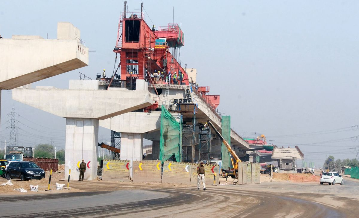 The work of Dwarka Expressway is underway during the visit of Union Road Transport and Highways. The government has at its disposal tools such as the National Infrastructure Pipeline through which it can substantially boost infrastructure spending immediately – a strategy that analysts say will benefit the IT sector as well.